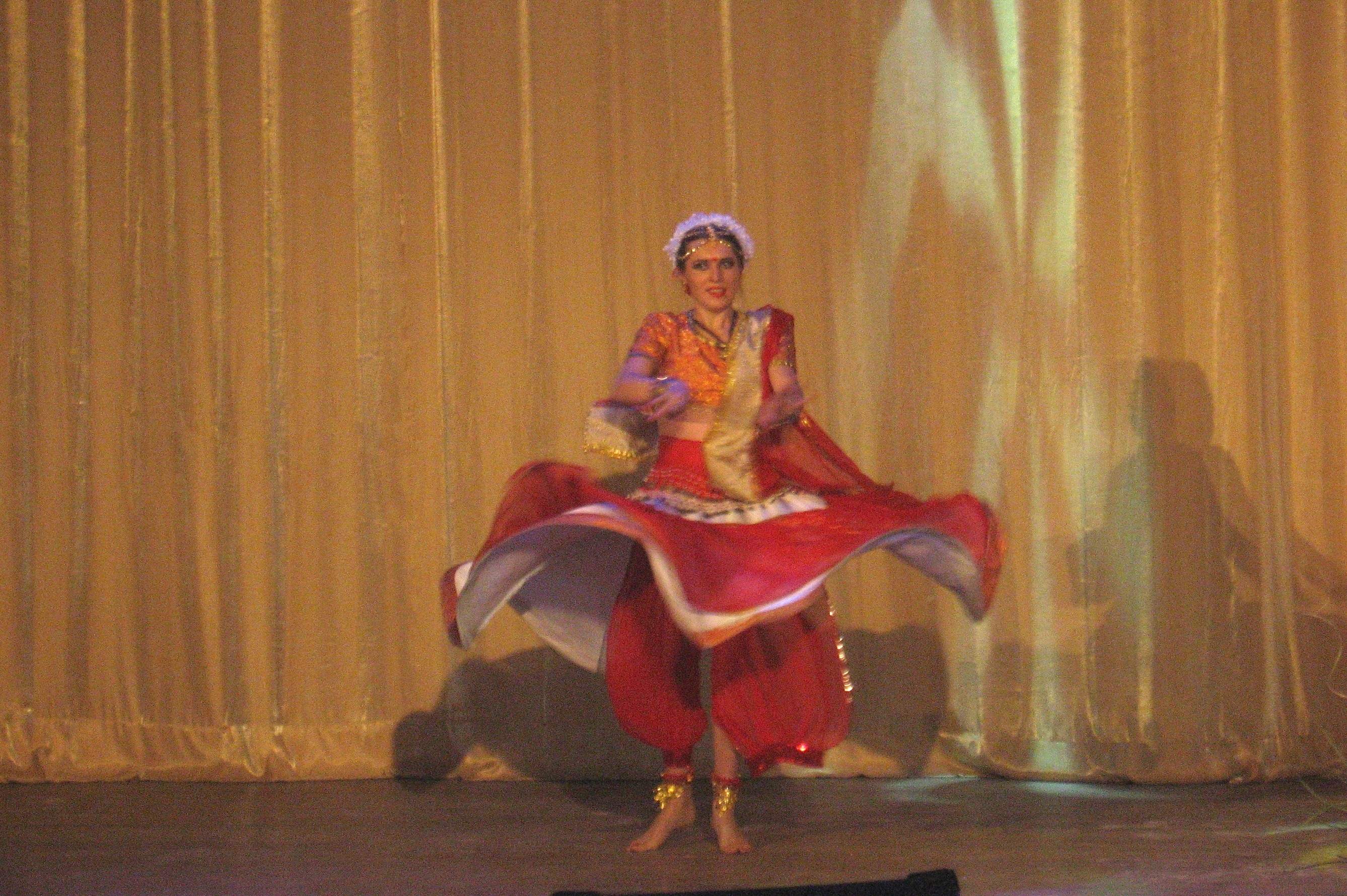 Индийский танец Ирины Мельниковой