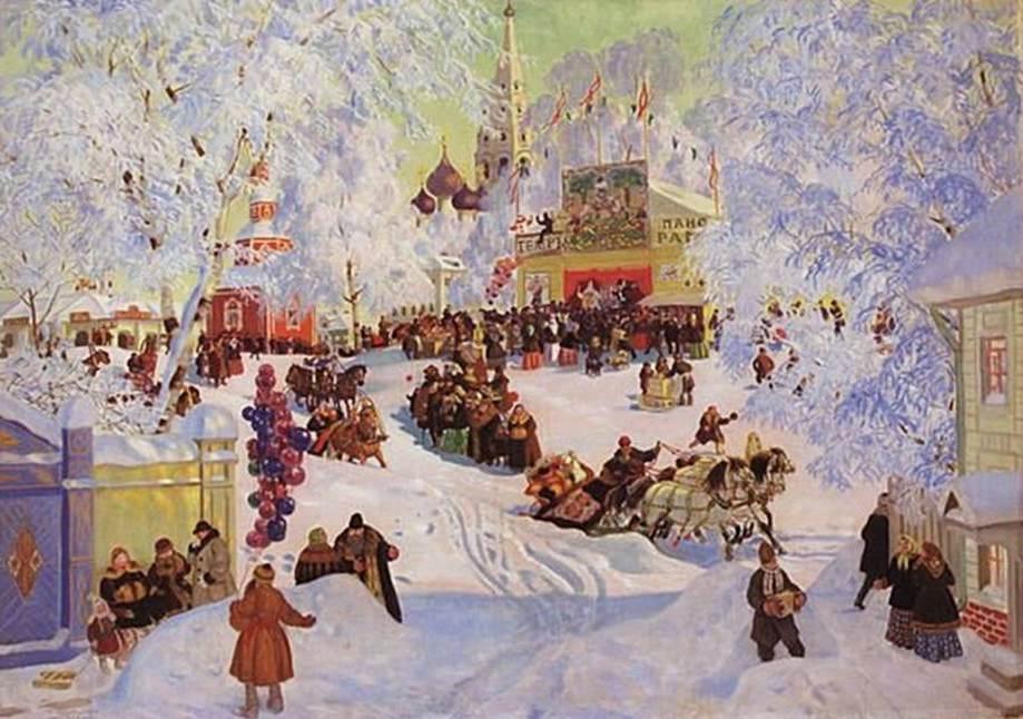 Масленица - старинный русский праздник