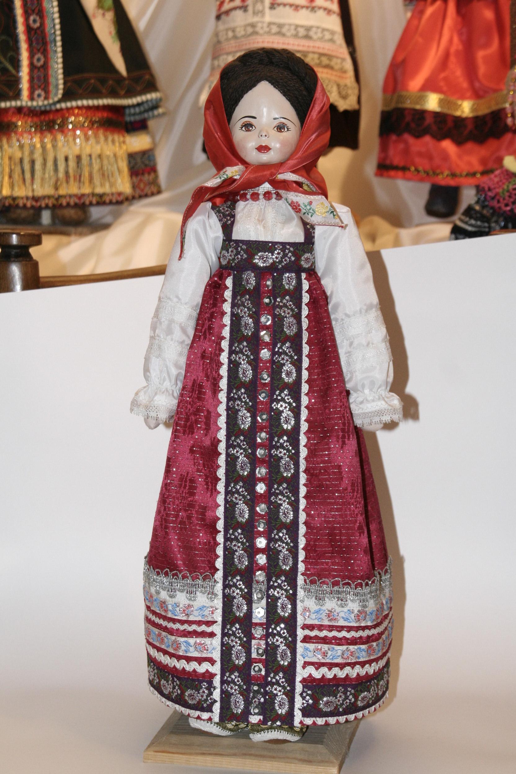 Тамбовский костюм