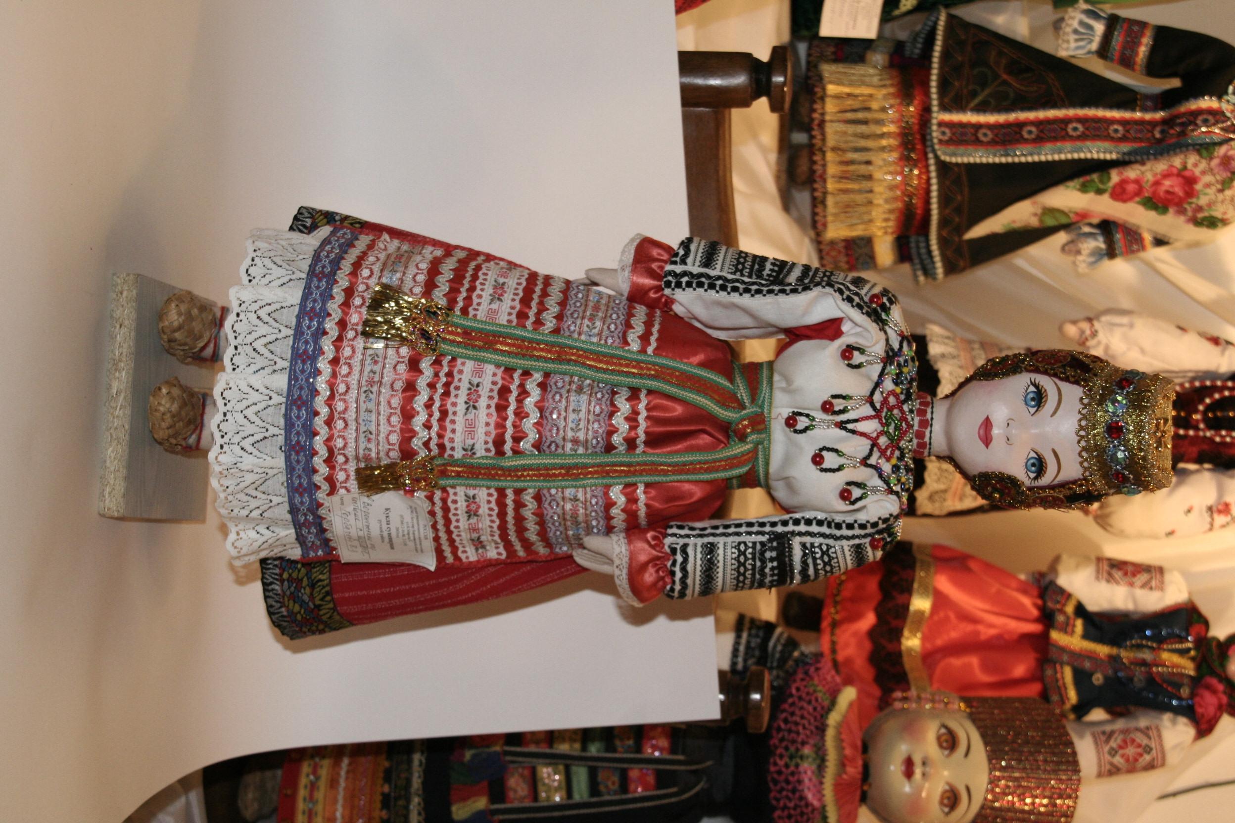 старинный народный костюм