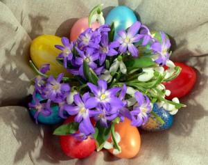 Традиция крашения Пасхальных яиц