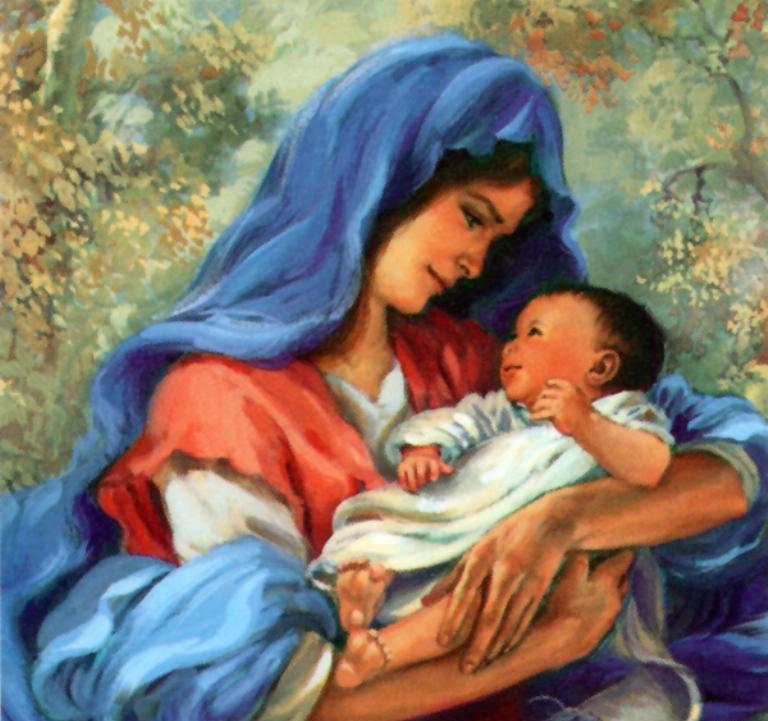 Женщина-мать