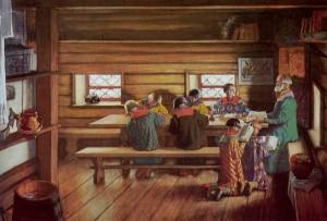 Обучение грамоте русских людей