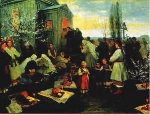 Традиция празднования Пасхи - Пасхальная заутреня