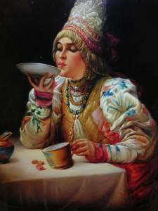 Сбитень - горячий напиток из мёда
