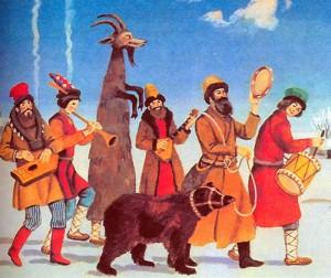 Бубен - медвежий музыкальный инструмент