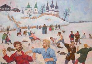 Русские кулачные бои