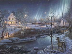 Новый год и Дед Мороз и Снегурочка