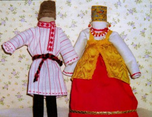Народный костюм Архангельской губернии
