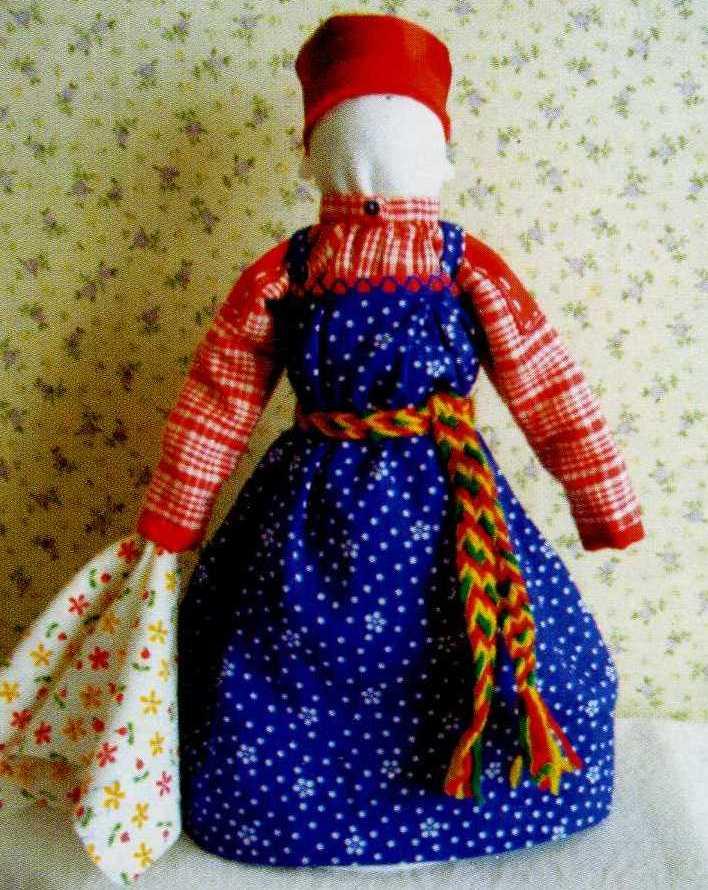Куклы в народных костюмах своими руками из ткани 15