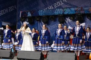 """Руководитель ансамбля """"Весенние Зори"""" делится впечатлениями об Олимпиаде в Сочи"""