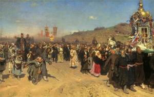 Крестный ход - главное Пасхальное торжество