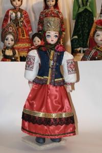 Старинный русский костюм