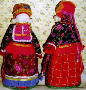 Народный костюм Нижегородской и Тамбовской губерний