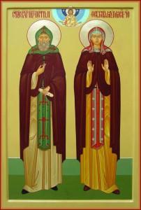 День влюблённых в России - день памяти святых Петра и Февронии